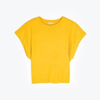 Základné tričko voľného strihu