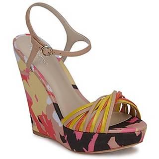 Sandále Bourne  KARMEL