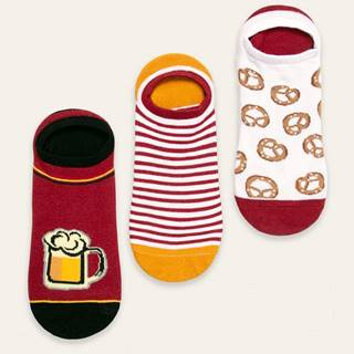 Medicine - Členkové ponožky Basic (3-pak)