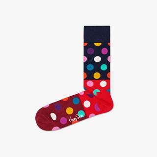 Happy Socks Big Dot Ponožky Červená Viacfarebná