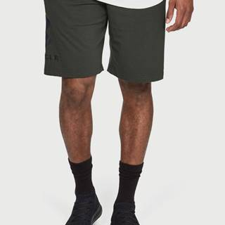 Kraťasy Under Armour Sportstyle Cotton Graphic Short Zelená