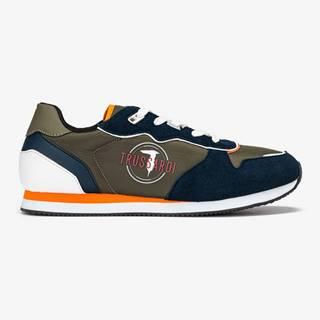 Topánky Trussardi Running Pu/Canvas Farebná