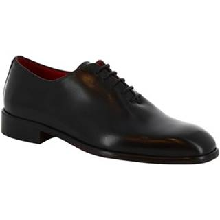 Derbie Leonardo Shoes  990 V.NERO