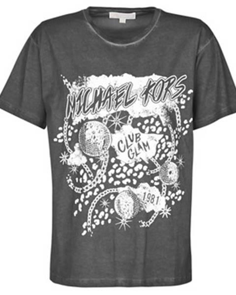 Tričká s krátkym rukávom MICHAEL Michael Kors  ROCK STARGRHPC BF TEE