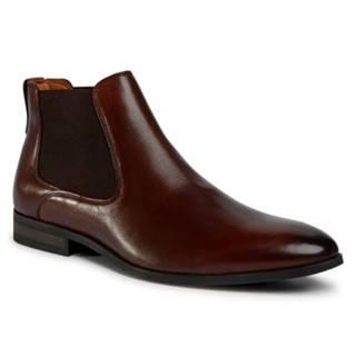 Členkové topánky Lasocki for men MI08-C736-743-09 Prírodná koža(useň) - Lícova