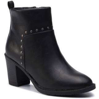 Členkové topánky Jenny Fairy LS4255-16 koža ekologická