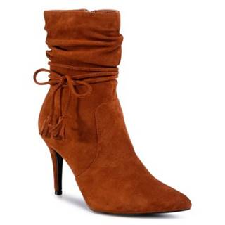 Členkové topánky DeeZee LS5268-08 Materiał tekstylny