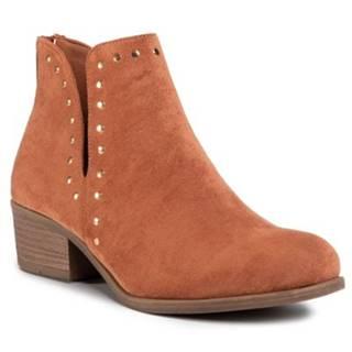 Členkové topánky Jenny Fairy WS2112-01 Materiał tekstylny