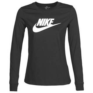 Tričká s dlhým rukávom Nike  W NSW TEE ESSNTL LS ICON FTR