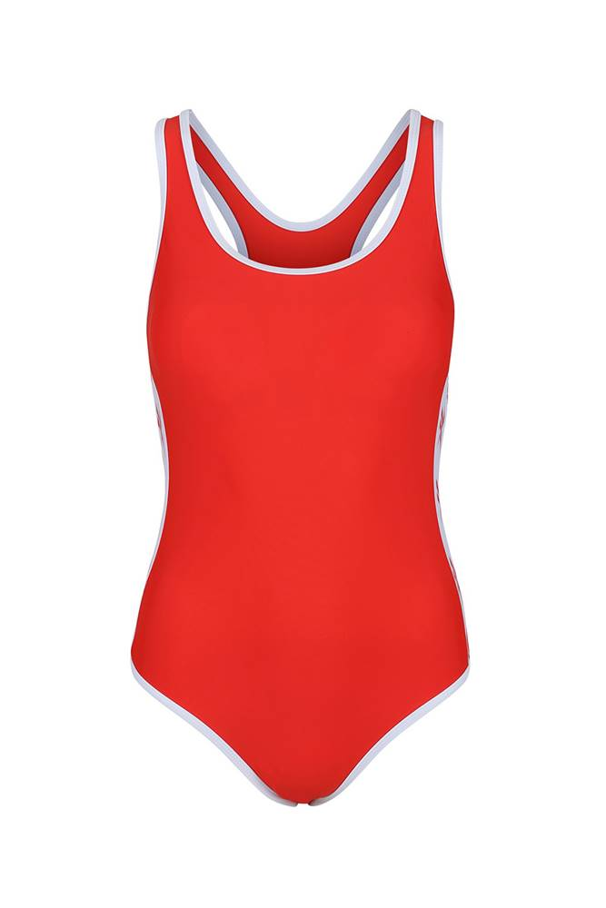 Dámske jednodielne plavky  Alyssa Red