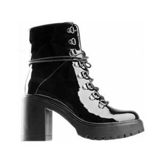 Šnurovacia obuv DeeZee WS5208-01 Ekologická koža/-Ekologická koža
